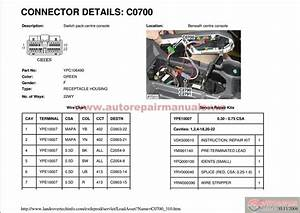 Land Rover Discovery3  Lr3  Workshop Manual