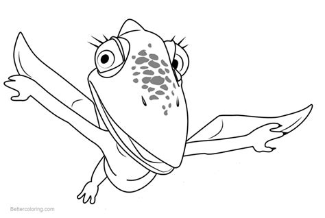 Dinosaur Train Coloring Pages Tiny Pteranodon