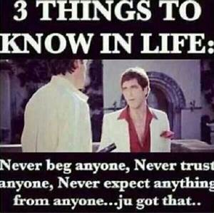 #scarface | Quotes and Stuff | Pinterest | Wisdom, The o ...
