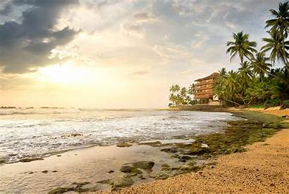Sri Lanka Wallpapers 4k Beach Hotel Ocean