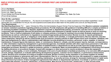 line support cover letter residential support worker cover letters