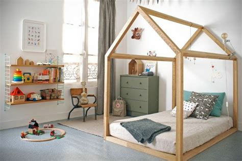 cabane chambre le plus beau lit cabane pour votre enfant