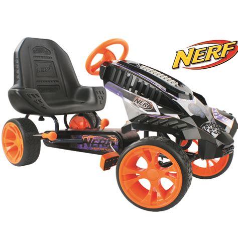 nerf battle racer hauck 91869 nerf battle racer go kart pedal cart best