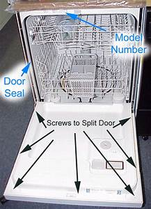 Dishwasher Doors  U0026 How To Replace The Lower Dishwasher