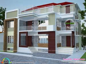 plans home multi family 4 plex home plan kerala home design and floor plans