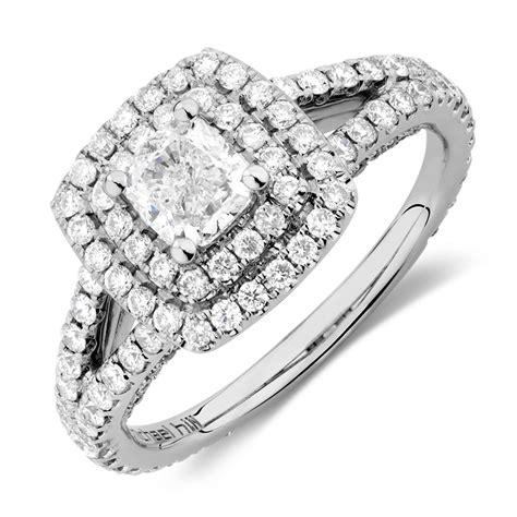 sir michael hill designer grandarpeggio engagement ring with 1 3 4 carat tw of diamonds in 14kt