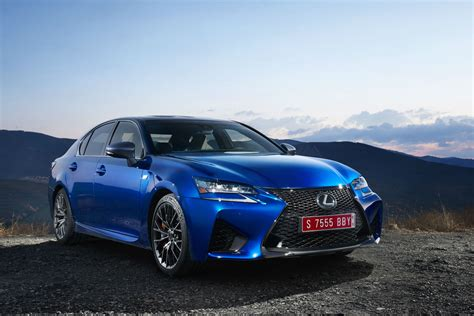blue lexus 2015 lexus gs f review 2015 first drive