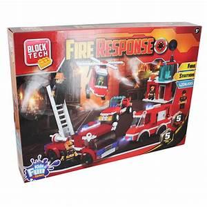 Block Tech Fire Response Instructions