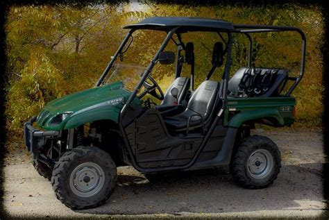 Yamaha Rhino Backseat And Roll Cage Kit  Utv Accessories
