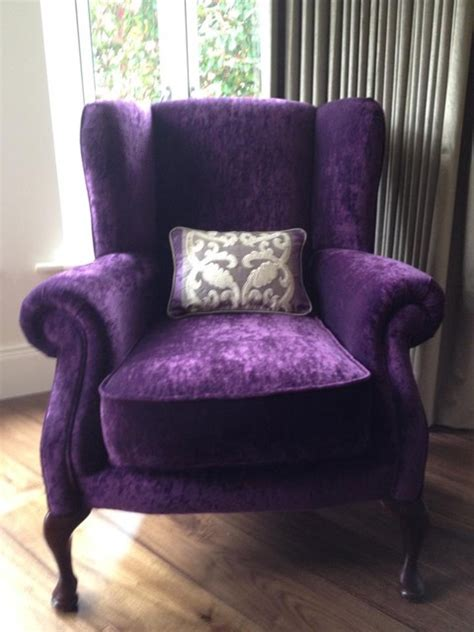 wing  chair  upholstery contemporary living room