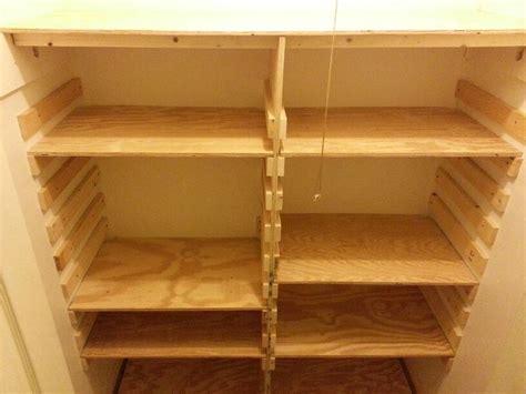wood closet organization adjustable shelves
