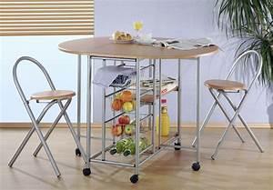 Küchentisch Mit Stühlen : k chenbar klappbar mit 2 st hlen k che k chentisch ebay ~ Michelbontemps.com Haus und Dekorationen