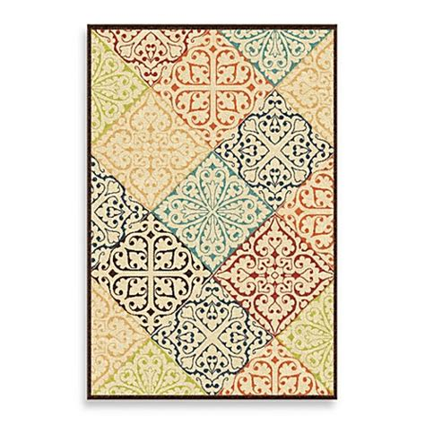 aria rugs veranda collection whitten rug  multicolor
