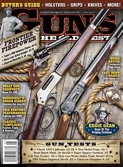 guns of the west magazine subscription discount magazines