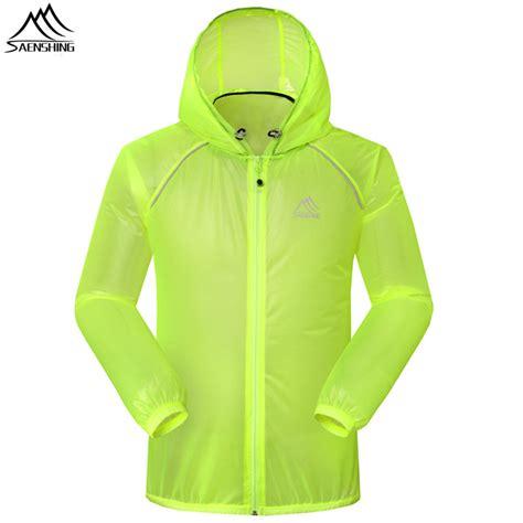 thin waterproof cycling jacket waterproof breathable running jacket coat nj