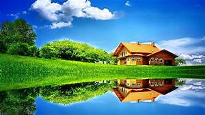 Holiday House Wallpaper