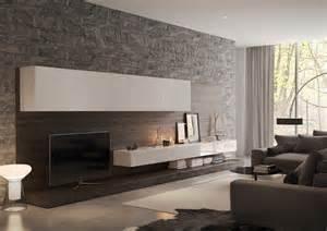 steinwand wohnzimmer schiefer wohnzimmer wandgestaltung 30 beispiele mit 3d effekt
