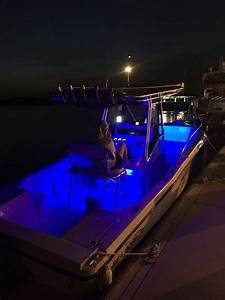 Post your boat at night, LED lights - The Hull Truth ...