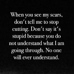 Scars From Cutting Quotes. QuotesGram