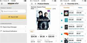 Amazon Launches Seller App For Iphone With Barcode Scanner
