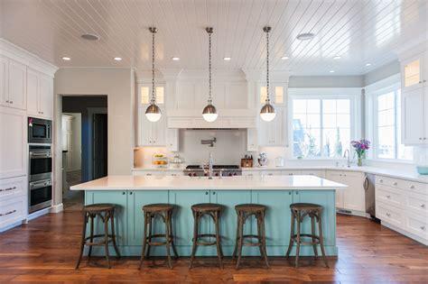 blue kitchen island contemporary kitchen benjamin