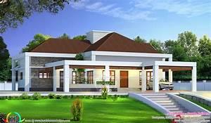 Stunning single floor house above road level