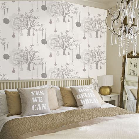 diy wallpaper designs  bedrooms uk