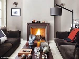 decoration salon avec cheminee With deco salon avec cheminee