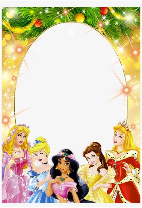 frame clipart disney princess princess birthday frame