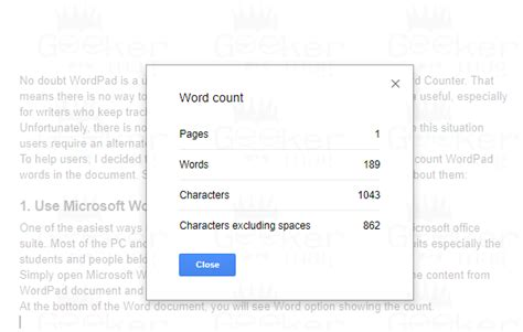 How to Check Wordpad Word Count- Possible Ways