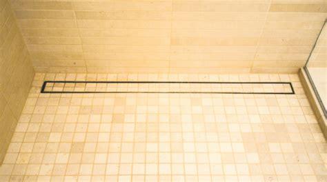 luxe linear shower drain tile insert custom builder