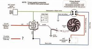 Wiring 2 Sources  Engine And Ac  To One Cooling Fan