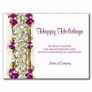 Unique christmas greeting cards 2017 quot happy holiday for Holiday card sayings for business