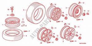 Tire  Wheel Disks For Honda Cars Civic 2 0 Type R 3 Doors 6