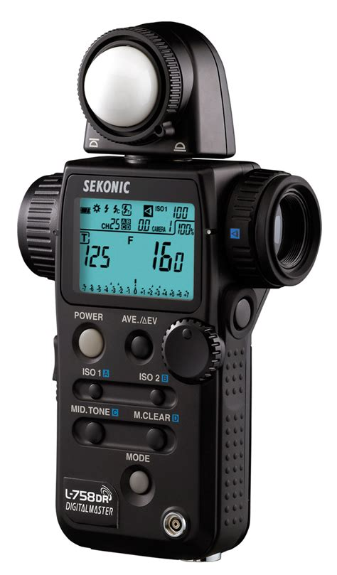 handheld light meter for photography x t1 in the studio