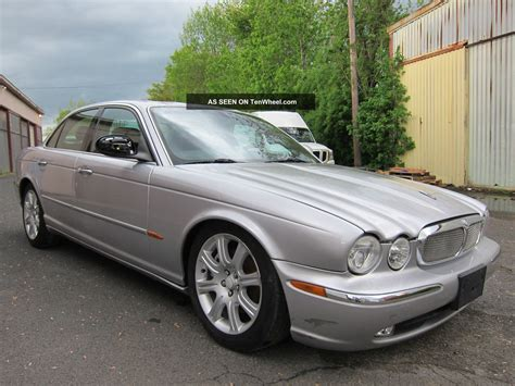 Jaguar Xj8 2004 Storm Damage To Roof Car Priced To Sell