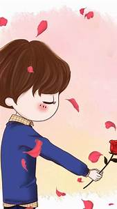 Wallpaper Cute Cartoon Couple