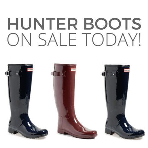 Hunter Tall Rain Boot Sale On Sale Today With Free Shipping