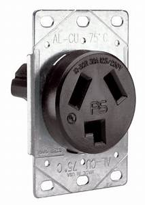 Pass And Seymour 3860cc6 Flush Outlet 30 250