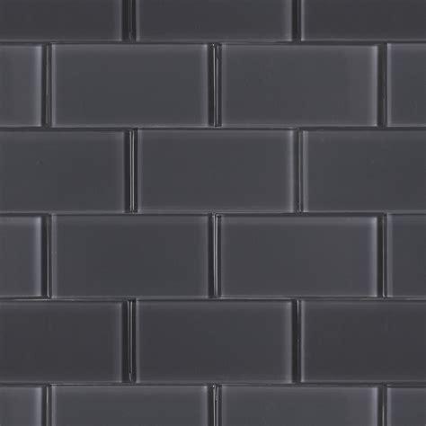 grey glass tiles ash grey brick polished 3x6 jpg