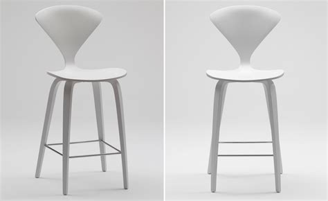 norman cherner office task cherner wood leg stool hivemodern com