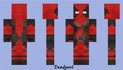 deadpool minecraft skin mods
