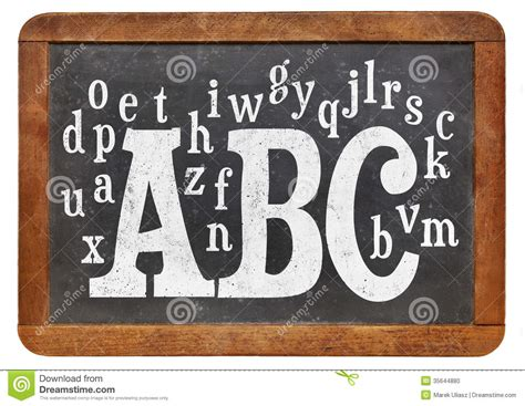 blackboard with white letters abc and alphabet on blackboard stock photo image 35644880 20621 | abc alphabet blackboard random letters vintage slate isolated white 35644880