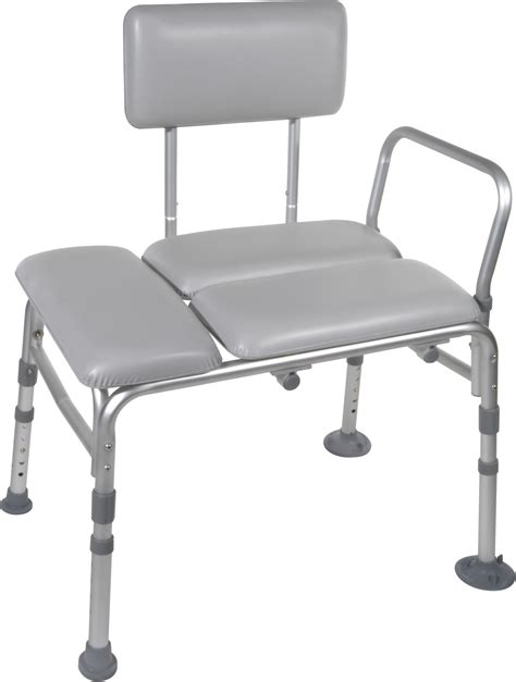 padded transfer bench drive