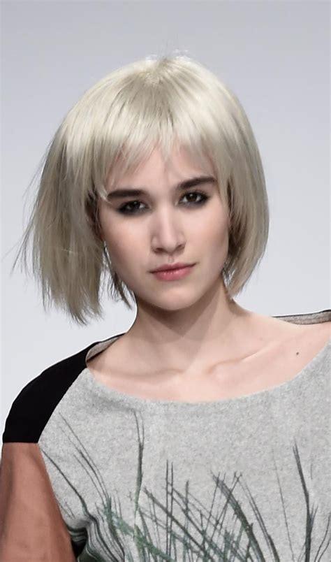 trendy blonde bob hairstyles  inspire