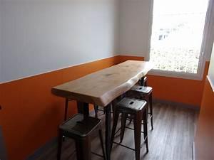 Table Bois Brut : table bois massif brut menuiserie md marseille menuiserie bois marseille menuiserie md ~ Teatrodelosmanantiales.com Idées de Décoration