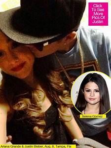 [PICS] Justin Bieber Kisses Ariana Grande — Pop Stars Get ...
