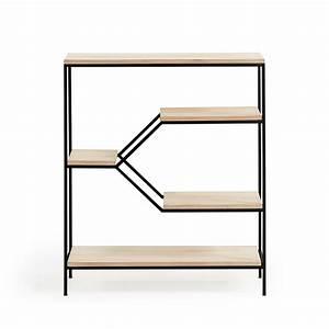Etagere Metal Et Bois : etag re en m tal et bois m push drawer ~ Nature-et-papiers.com Idées de Décoration
