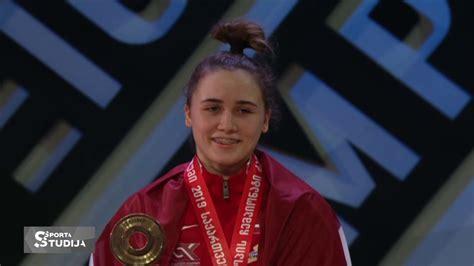 Rebeka Koha izcīna Eiropas čempiones titulu! - YouTube