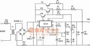 The  24v And 1 9a Stable Power Supply Composed Of 5g14d